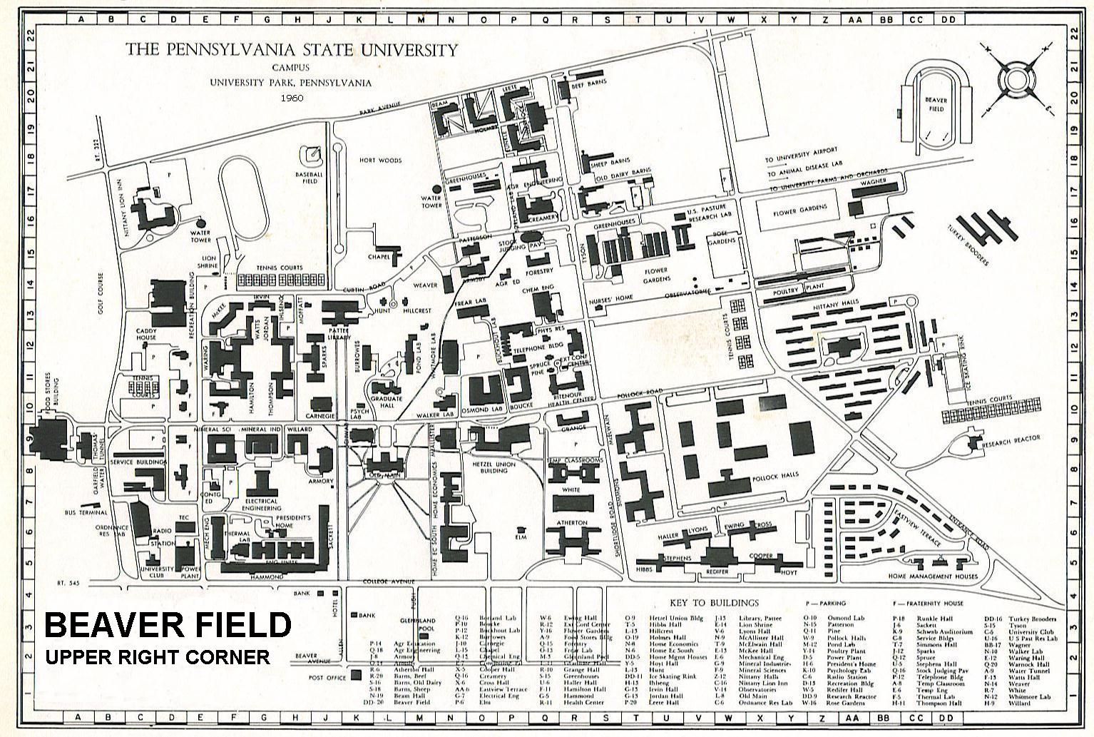 Penn State University Park Campus Map What Is A Bubble Map